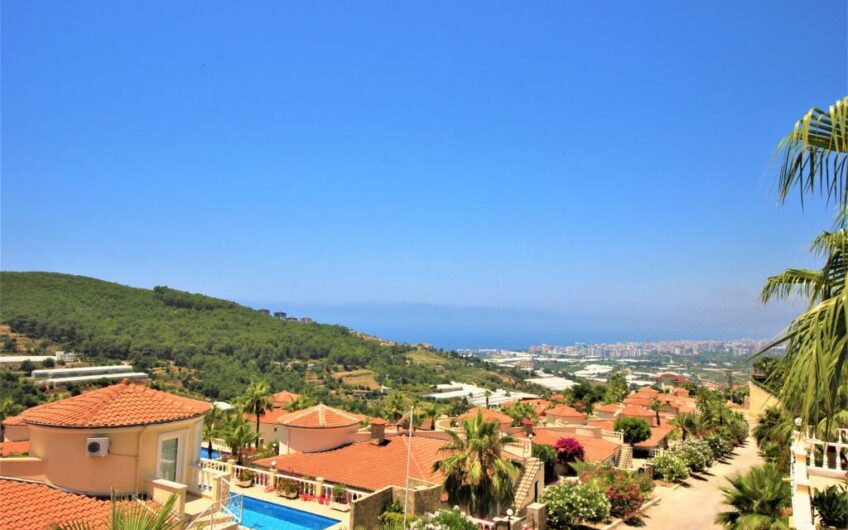 Fully furnished for sale villa in Alanya.Kargicak