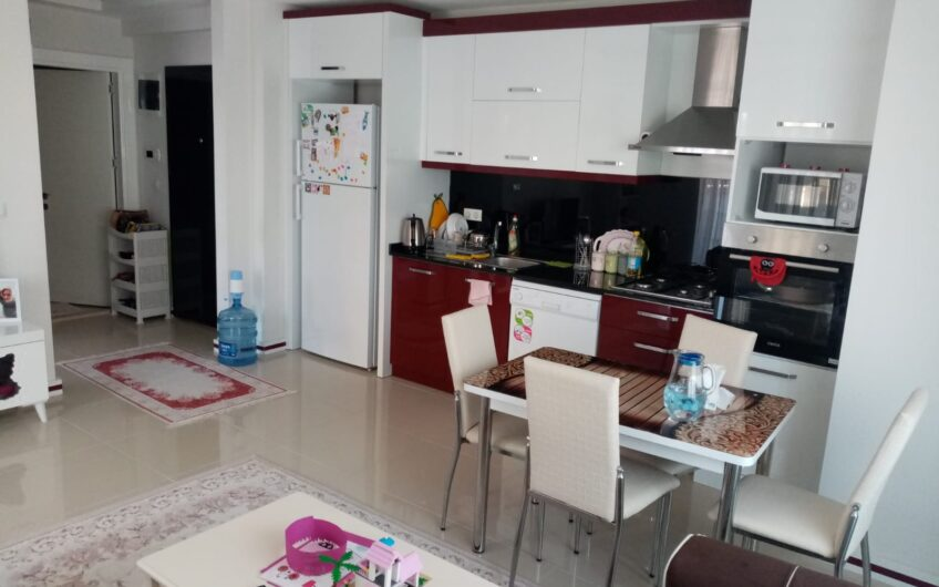 Fully furnished 1+1 For sale apartment in Alanya/Mahmutlar