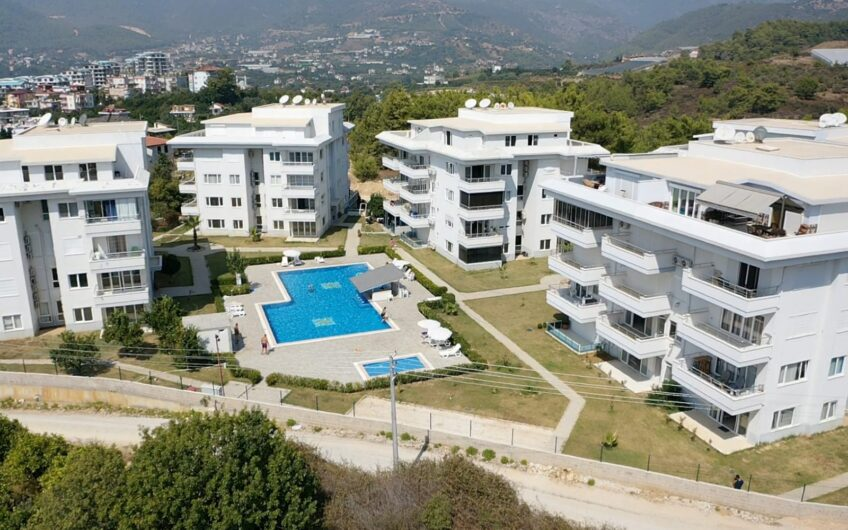 Fully furnished 2+1 For sale apartment in Alanya/ Oba