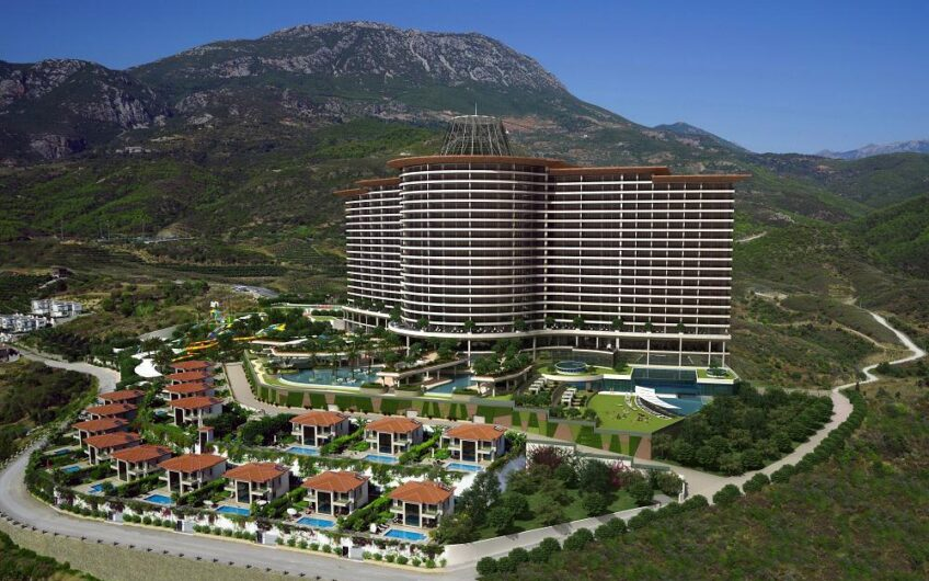 ULTRA LUXURY RESİDENCE FLATS FOR SALE İN ALANYA