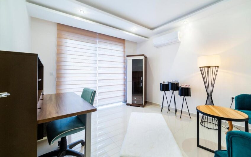 Fully furnished for sale 4+2 in Alanya/Mahmutlar