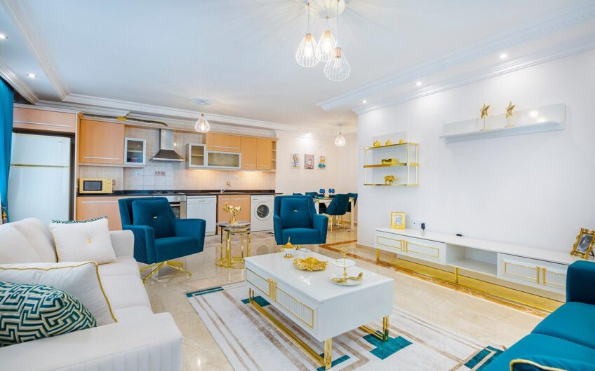 Fully furnished for sale 2+1 in Alanya/Mahmutlar