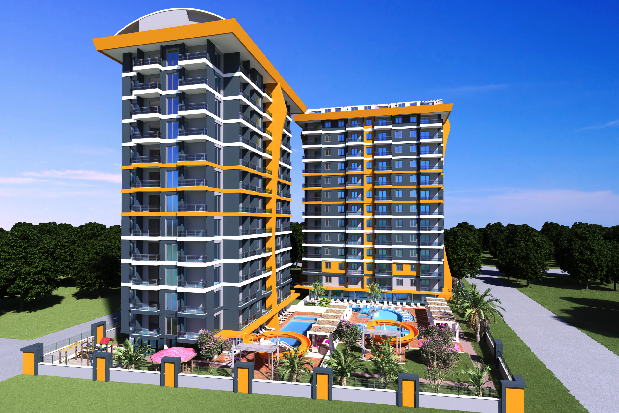 Our brand new ultra luxury project in the heart of Mahmutlar/ Alanya
