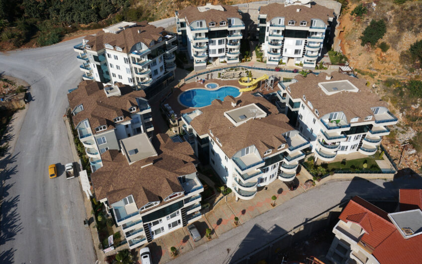 Fully furnished for sale apartment in Alanya