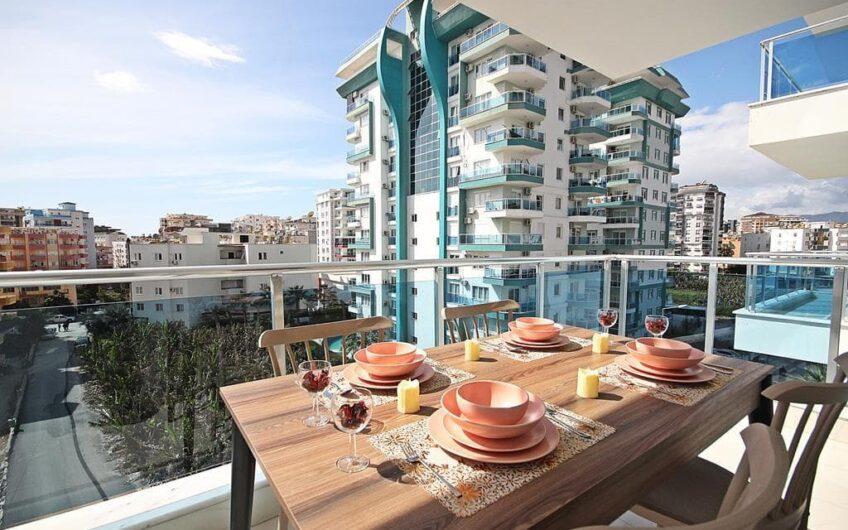 Fully furnished residence for sale in alanya/ mahmutlar