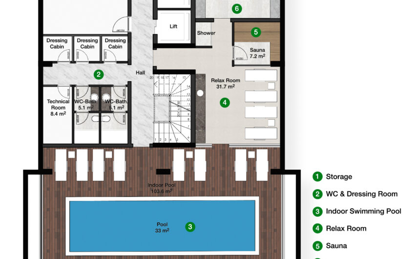 Apartments for sale in the new project in alanya