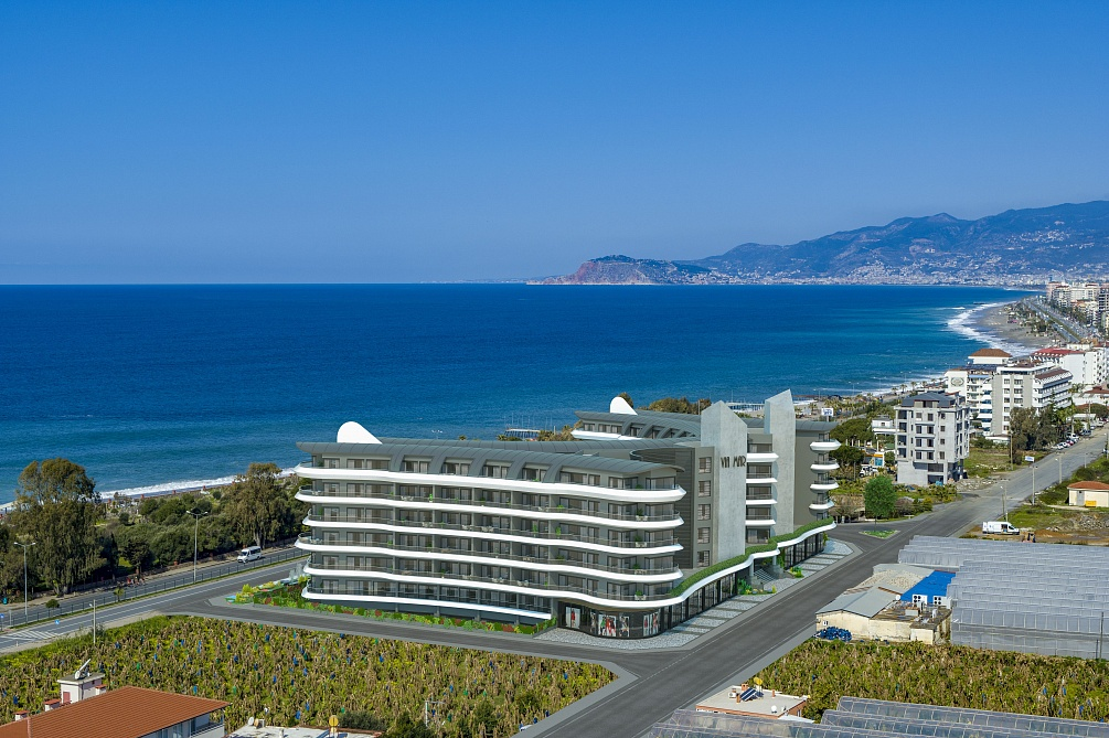 ULTRA LUXURY RESİDENCE FLATS FOR SALE İN  KARGİÇAK/ALANYA