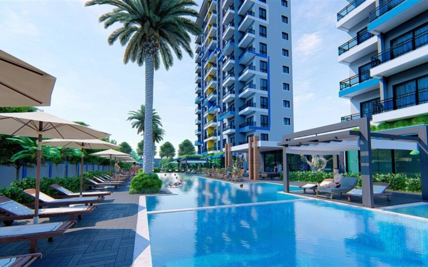 For sale in new project apartments, 1+1  2+1,  3+1, 4+1 penthouse duplex