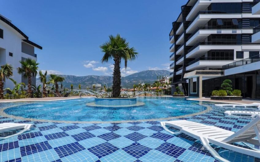 FULLY FURNISHED FOR SALE APARTMENT IN ALANYA/KARĞİCAK