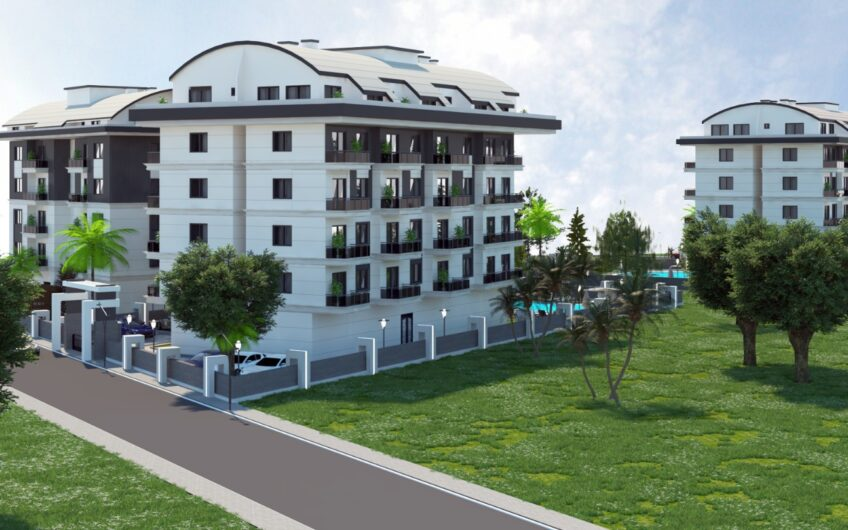 New investment project in a prestigious area in Alanya/Oba