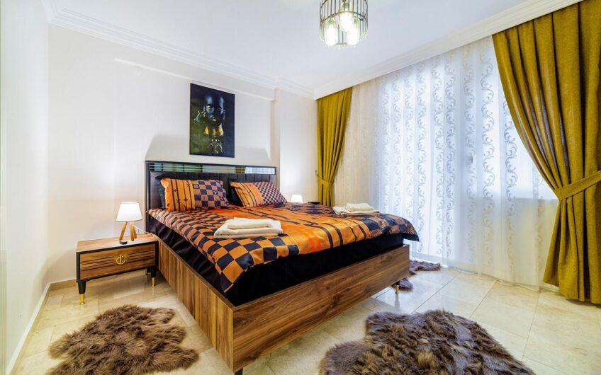 2 + 1 flat for sale with fully furnished