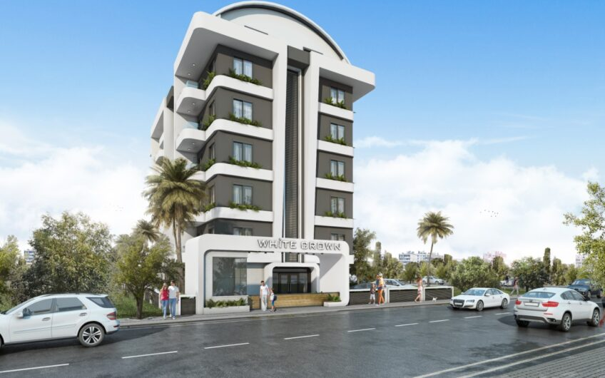 New building for sale apartments in Alanya/Kestel