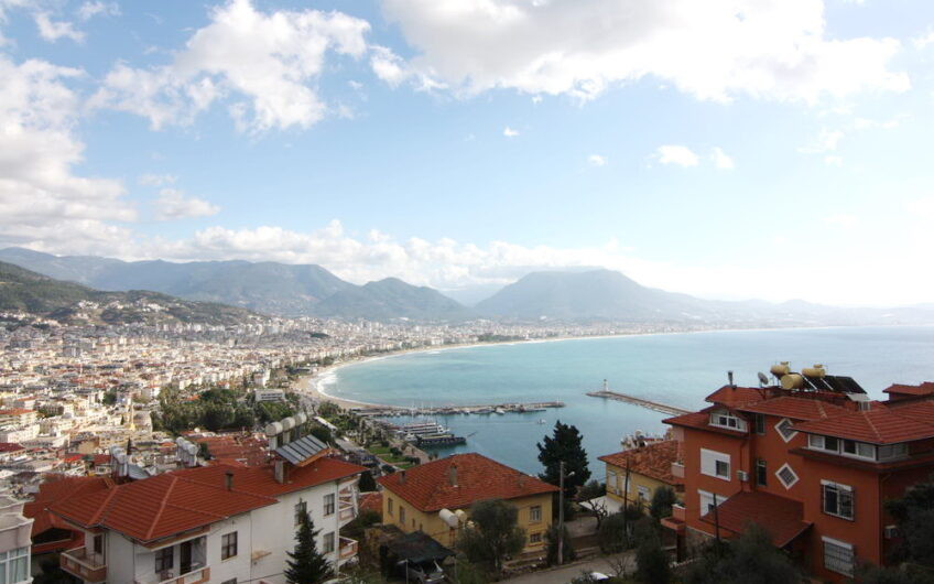 Fully furnished villa for sale in the center of alanya