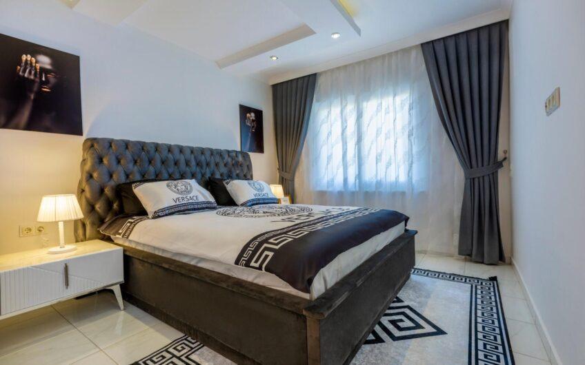 Fully furnished luxury ANGEL 2  residence for sale in Alanya/Mahmutlar