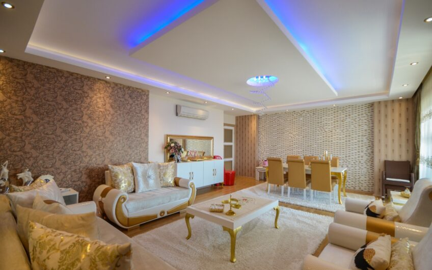 Fully furnished luxury residence for sale in Alanya/Cikcilli