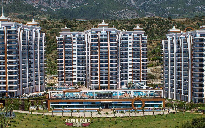 Fully furnished luxury apartments 1+1 for sale in Alanya/Mahmutlar