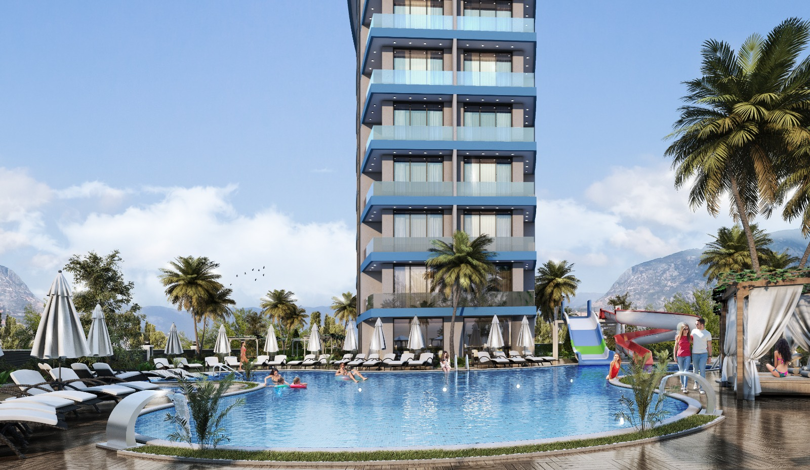 New building for sale apartments in Alanya/Avsallar