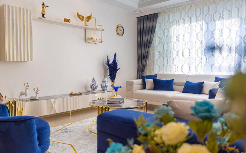 Fully furnished  for sale pethouses in alanya/mahmutlar