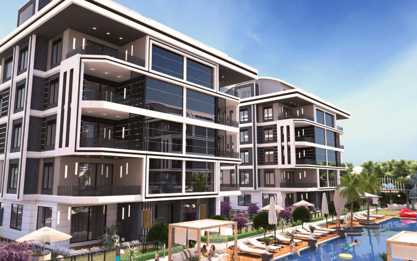 Zero flats for sale phoenıx valley complex in alanya/oba
