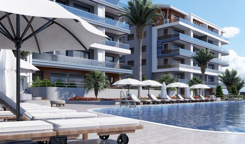 New project in Kargicak with luxury for sale.