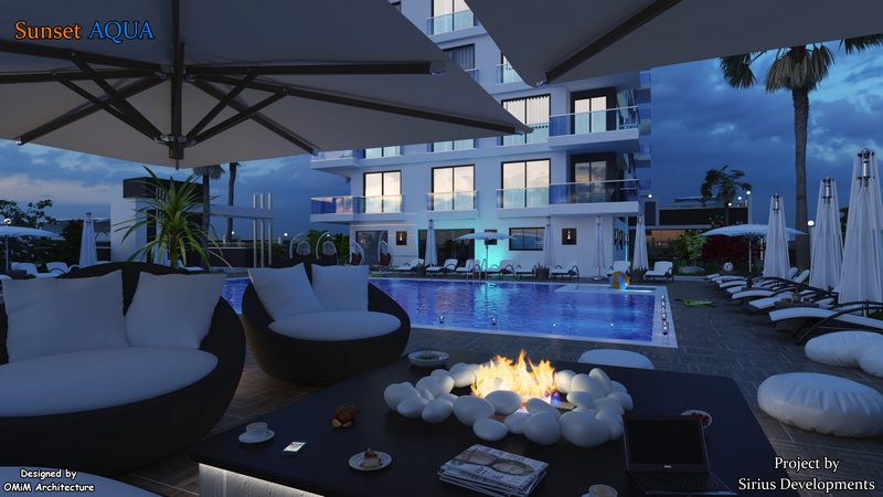 Apartments in the Sunset Aqua complex are liquid investments for many years!