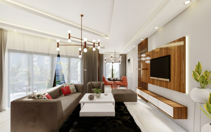 Residence apartments for sale in luxury complex alanya