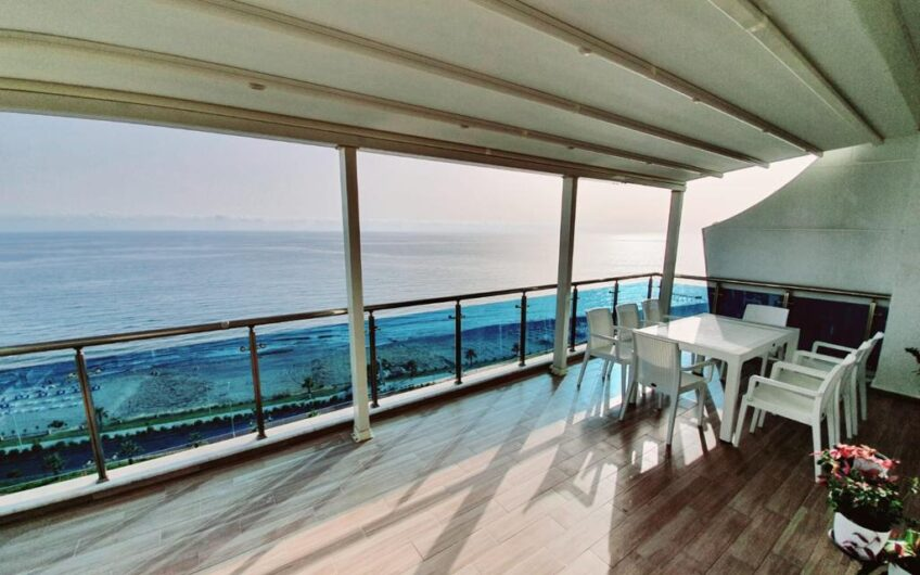 Fully furnished for sale penthouse  apartment in alanya