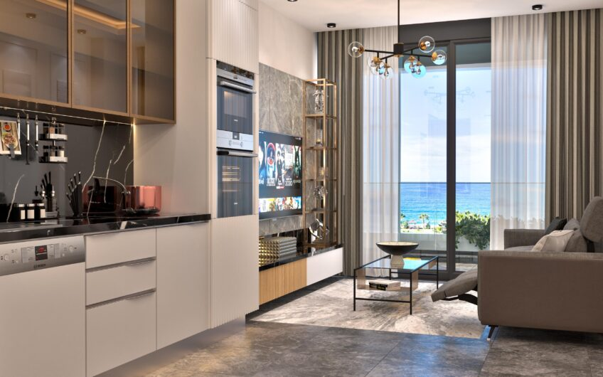 New luxury apartments for sale in alanya/kargıcak