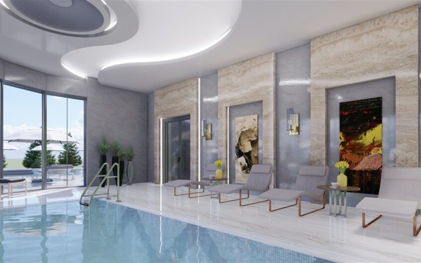 Euro residence 21 new consruction project for sale in Alanya/Mahmutlar