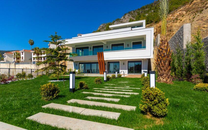 Ultra luxury new villa for sale in alanya