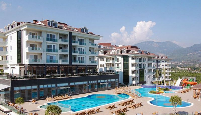 Apartments for sale in a fully furnished luxury complex alanya/cikcilli