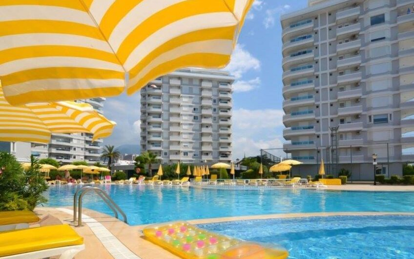 Fully furnished flat for sale in ultra luxury complex alanya/tosmur