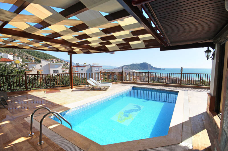 Fully furnished villa for sale in alanya