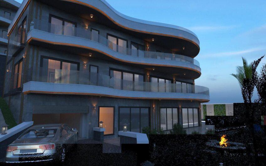 Ultra luxury new villa for sale in alanya/ tepe