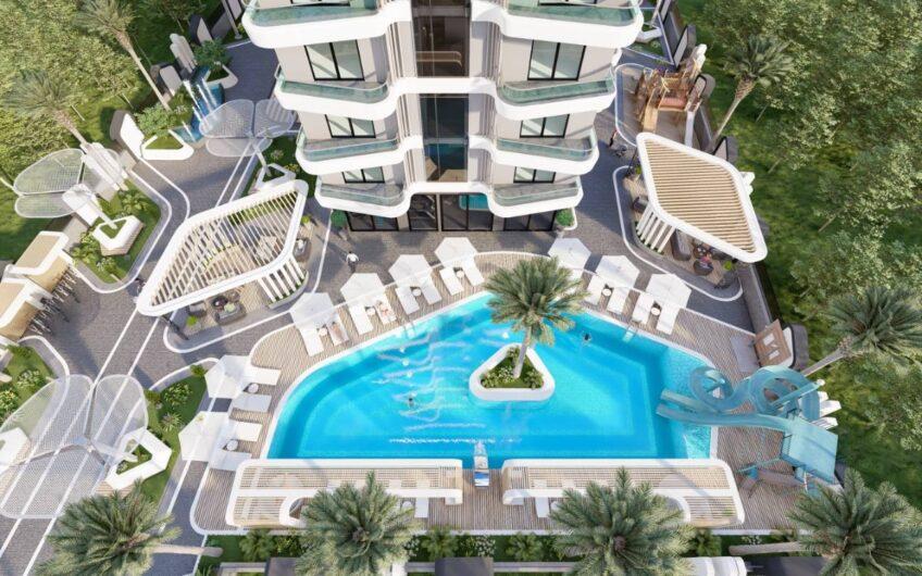 New luxury residence apartments for sale in alanya/mahmutlar