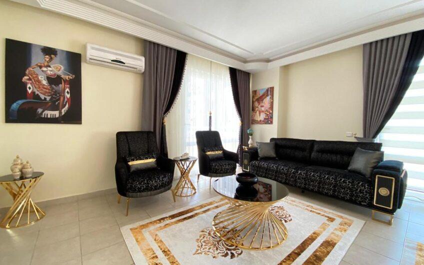 Fully furnished residence flat for sale in alanya/mahmutlar